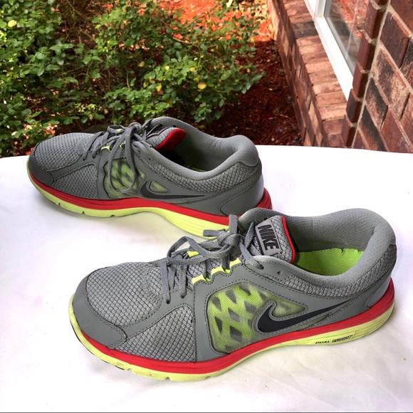 4e6edb0ff297 Nike Shoes   Dual Fusion Running Gray Yellow Men 12   Poshmark